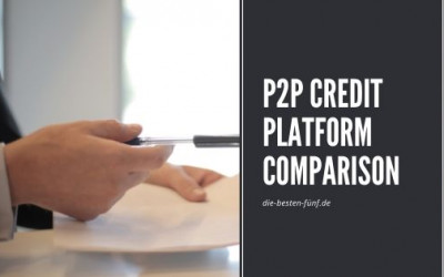 The best P2P credit platforms in comparison 2020